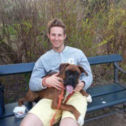 meg og hunden